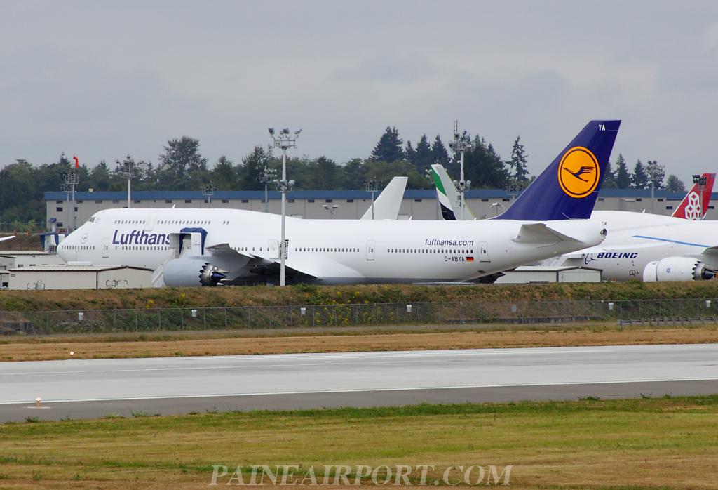 Lufthansa adds 2nd 747-8 station