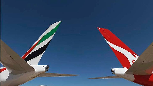 QANTAS/Emirates trans-Tasman Alliance starts 14 August