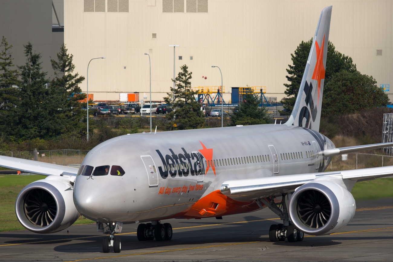Jetstar announces new 787 flights from Sydney and Brisbane