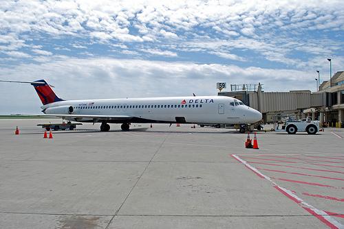 Delta Air Lines farewells the DC-9