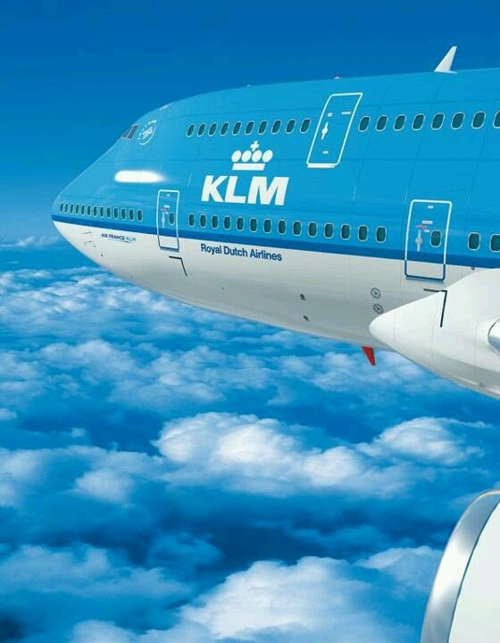 KLM Royal Dutch Airlines only airline to land during Hong Kong typhoon