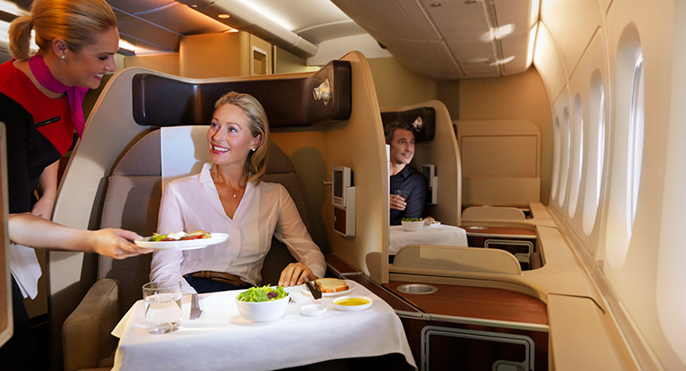QANTAS First Class service to Asia resumes